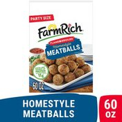 Farm Rich Flame Broiled Homestyle Meatballs