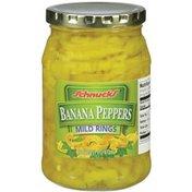 Schnucks Mild Rings Banana Peppers