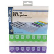 TopCare Xl-E 4-A-Day Week Pill Organizer
