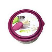 U Konserve Large Round Container with Magenta Lid