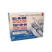 President's Choice All in One Pre Wash Detergent & Rinse Agent Fresh Scent Dishwasher Detergent Tabs