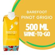 Barefoot Barefoot-To-Go Pinot Grigio White Wine Tetra