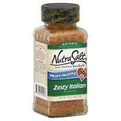 Nutra Salt Sea Salt, Low Sodium, Zesty Italian Seasoning