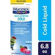 Mucinex® Cough Suppresent, Chest Congestion and Stuffy Nose Relief, Children's Multi-Symptom Cold Liquid