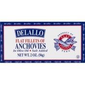 DeLallo Anchovies, Flat Fillets