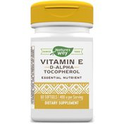 Nature's Way Vitamin E 400 IU