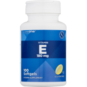 CareOne Vitamin E 180 MCG Softgels