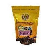 Think. Eat. Live. Gluten Free Brownie Mix