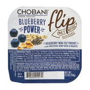 Chobani Greek Yogurt Flip Blueberry Power