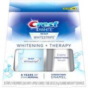 Crest Whitestrips Gentle Routine Crest 3D White Whitestrips Whitening + Therapy Teeth Whitening Kit, 14 Treatments