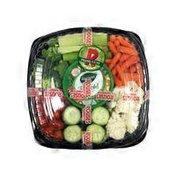 12 Shallow Veggie Platter