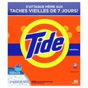 Tide Original Scent Ultra High Efficiency Laundry Detergent Powder