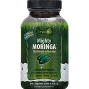 Irwin Naturals Mighty Moringa, Liquid Soft-Gels
