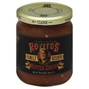 Royitos Sauce, Hotter, Family Reserve
