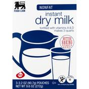Food Lion Dry Milk, Nonfat, Instant