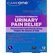 CareOne Maximum Strength Urinary Pain Relief