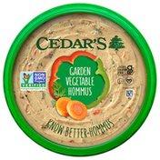 Cedar's Foods Garden Vegetable Hommus