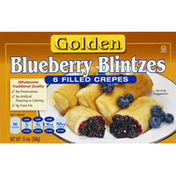 Golden Blintzes, Blueberry
