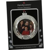 Harvey Lewis Holiday Ornament, Frame, Snowflake