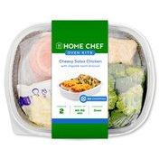 Home Chef Cheesy Salsa Chicken With Chipotle Ranch Broccoli