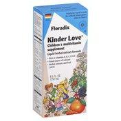 Floradix Kinder Love, Children's Multivitamin Supplement, Liquid Herbal Extract Formula