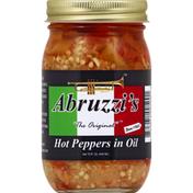 Abruzzis Peppers, in Oil, Hot, The Original