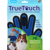 True Touch Deshedding Glove, Five Finger