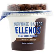 Ellenos Yogurt, Real Greek, Brownie Batter