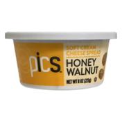 PICS Soft Cream Cheese Spread Honey Walnut