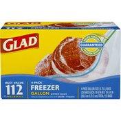 Glad Gallon Size Freezer Bags
