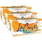 LaCroix Apricot Sparkling Water - 3/8pk/12 fl oz Cans
