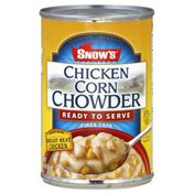 Snows Chicken Corn Chowder, Ready to Serve