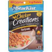 StarKist Premium White Chicken in Sauce, Teriyaki