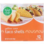 Food Club Yellow Corn Taco Shells