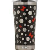 Tervis Tumbler, Stainless Steel, Silver Minnie