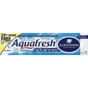Aquafresh Toothpaste, Fluoride, Triple Protection Advanced, Ice Mint