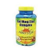 Nature's Life Cal Mag Zinc Complex 15 Mg