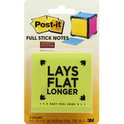 Post-it Stick Notes, Full, Super Sticky