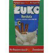 Zuko Drink Mix, Artificial Horchata Flavor
