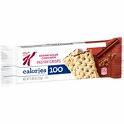 Kellogg's Special K Pastry Crisps, Breakfast Bar, 100 Calorie Snacks, Brown Sugar Cinnamon