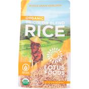 Lotus Foods Rice, Organic, Tricolor Blend