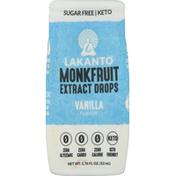 Lakanto Monkfruit Extract Drops, Vanilla Flavor