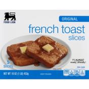 Food Lion French Toast, Original, Slices, Box