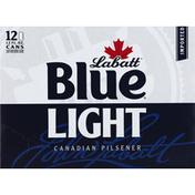 Labatt Beer, Light, Canadian Pilsener, 12 Pack