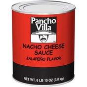 Pancho Villa Jalapeño Flavor Nacho Cheese Sauce