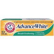 Arm & Hammer Breath Freshening Baking Soda & Frosted Mint Advance White Toothpaste