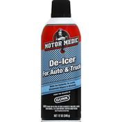 Motor Medic De-Icer, for Auto & Truck