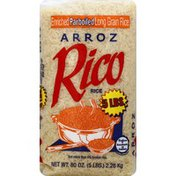 Rico's Rice, Enriched, Parboiled, Long Grain
