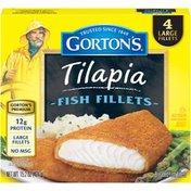 Gorton's Tilapia Gorton's Crunchy Breaded Tilapia Fish Fillets
