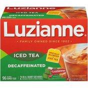 Luzianne Decaffeinated Iced Tea Bags